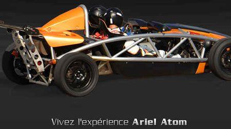 Vivez l'expériience Ariel Atom