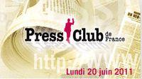 Press Club de France - Prix Humour et Politique - annonce