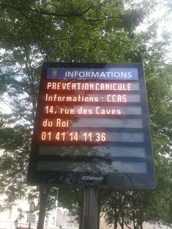 Prévention canicule ville de SEVRES-18juillet2011