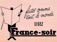 Lisez France Soir - 1