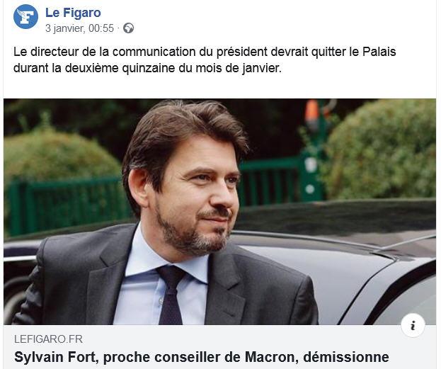 Sylvain Fort démissionne